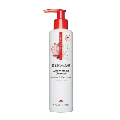 derma e Anti Wrinkle Cleanser 6oz - image 1 of 1