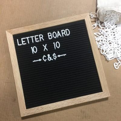 TF Publishing Felt Letter Board 10  x 10