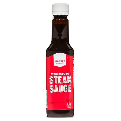 Steak Sauce 10oz Market Pantry Target