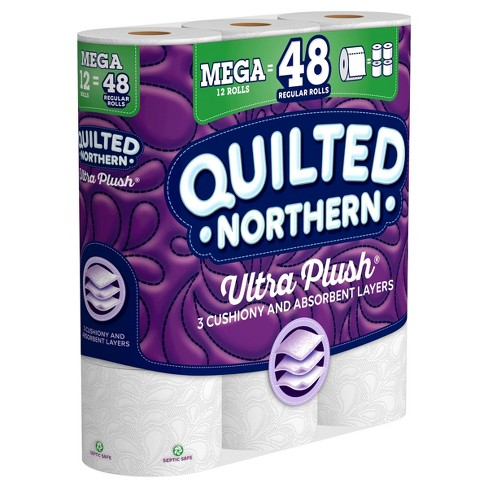Quilted Northern Ultra Plush Toilet Paper 12 Mega Rolls Target
