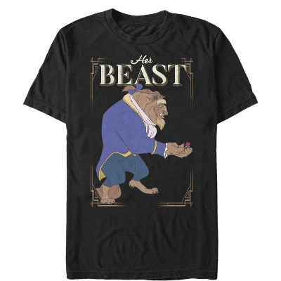 Men's Beauty and the Beast Her Beast T-Shirt