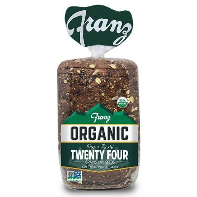 Franz Organic Rogue River 24 Grain Bread - 27oz