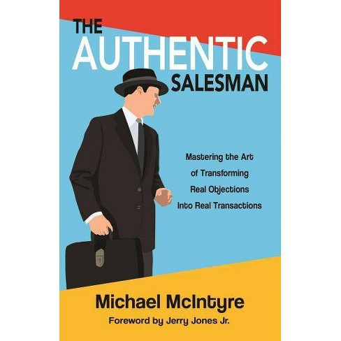 Authentic Salesman - by  Michael McIntyre (Paperback) - image 1 of 1