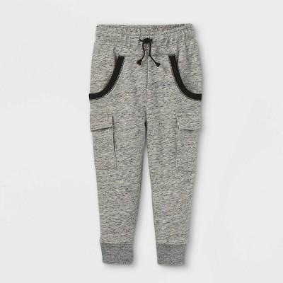 Toddler Boys' Knit Jogger Pants - Cat & Jack™ Gray 12M