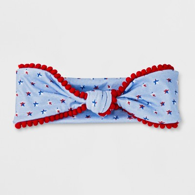 Girls' Americana Star Headband - Cat & Jack™ Blue