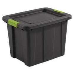 Sterilite Tuff1 Latching 18 Gallon Plastic Storage Tote Container & Lid