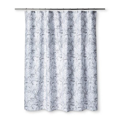 Marble Shower Curtain Pigeon Gray - Room Essentials™
