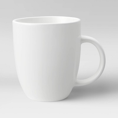 14oz Porcelain Coffee Mug White - Threshold™