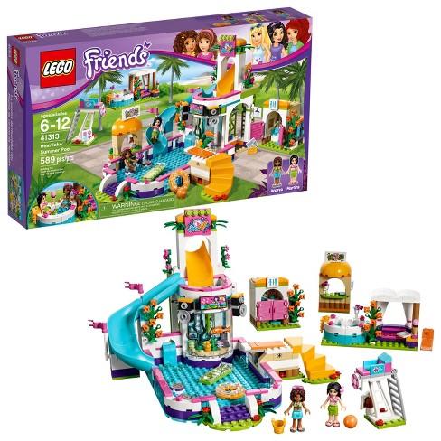 Lego Friends Heartlake Summer Pool 41313 Target