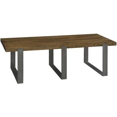 Hekman 23700 Hekman Iron Strapping Rectangular Coffee Table 23700 Bedford