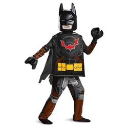 Boys' Lego Movie 2 Batman Deluxe Halloween Costume