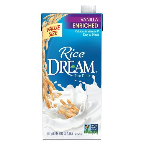Rice Dream Organic Enriched Vanilla Rice Drink Non-Dairy Beverage - 64 fl oz - image 1 of 2