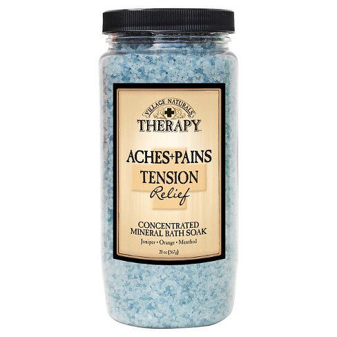 Village Naturals Therapy™ Stress and Tension Mineral Bath Soak - 20 oz - image 1 of 1