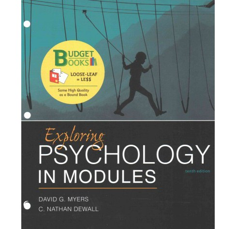 Exploring Psychology in Modules (Paperback) (David G. Myers & C. Nathan Dewall) - image 1 of 1