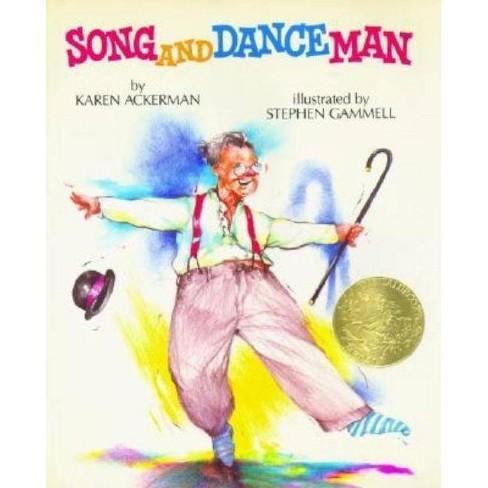 Song and Dance Man - (Borzoi Book) by  Karen Ackerman (Hardcover) - image 1 of 1