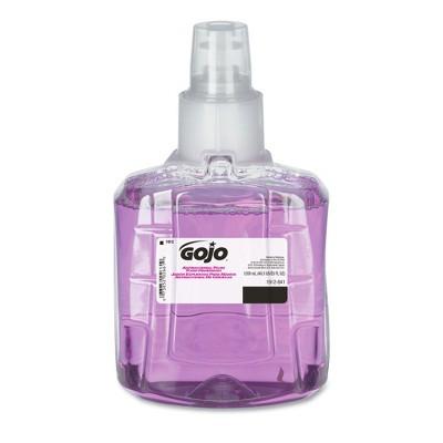 GOJO Industries 1912-02 Plum Scent 1200 mL Antibacterial Foam Handwash Refill for LTX-12 Dispenser