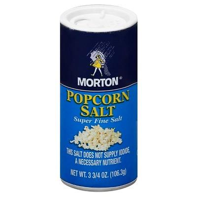 Salt: Morton Popcorn Salt
