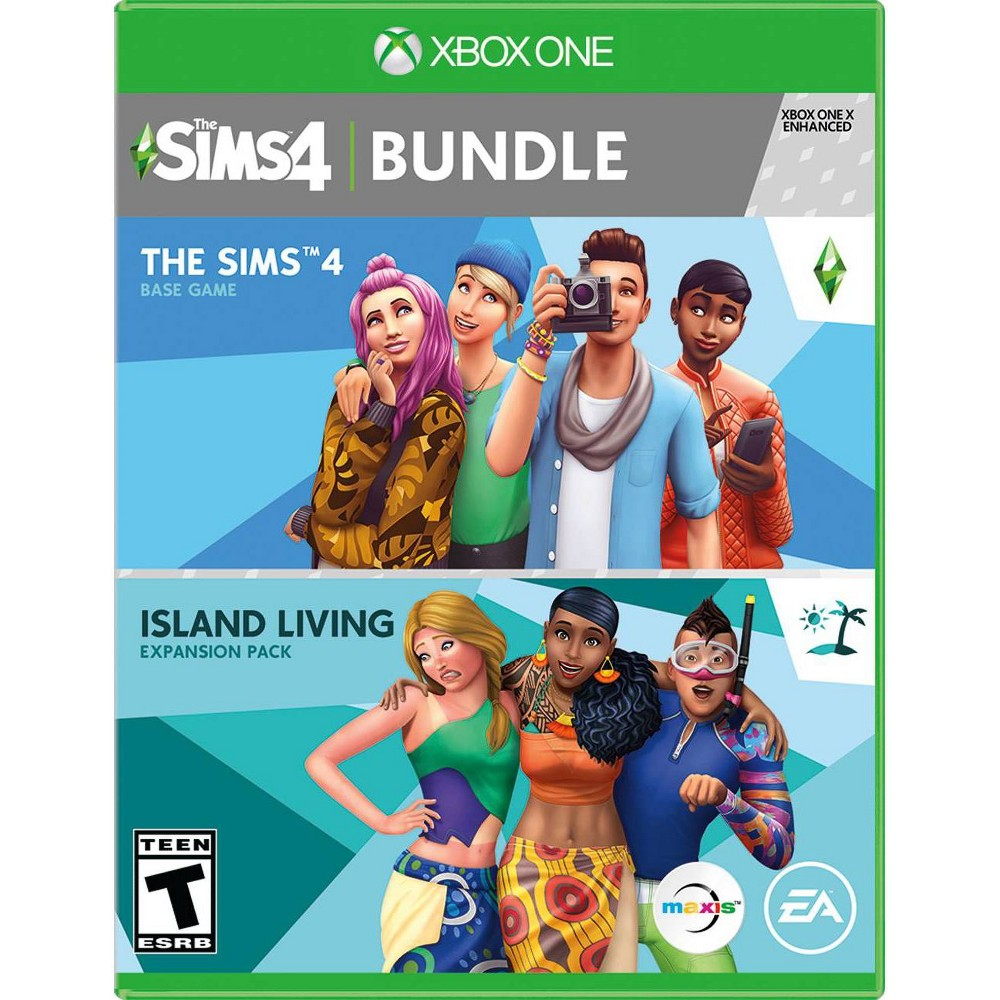 Sims 4 + Island Living - Xbox One was $42.99 now $24.99 (42.0% off)