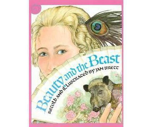 Beauty and the Beast (Reprint) (Paperback) (Jan Brett) - image 1 of 1