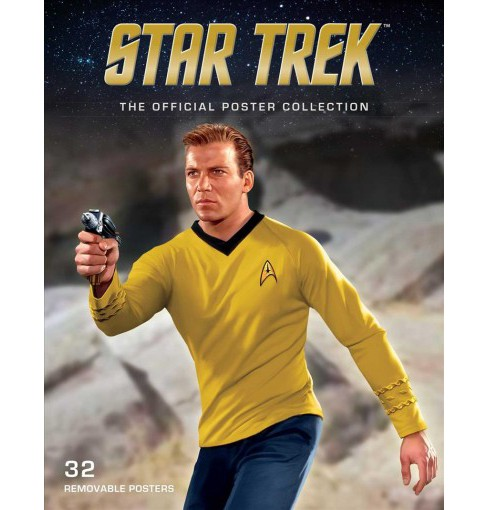 Star Trek : The Official Poster Collection -  (Paperback) - image 1 of 1