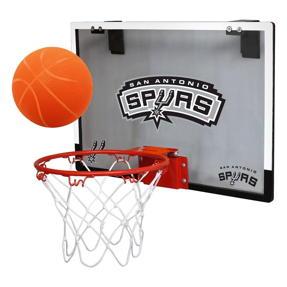San Antonio Spurs Rawlings Over-The-Door Mini Hoop Set