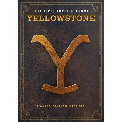 Yellowstone: The First Three Seasons (DVD)(2020)