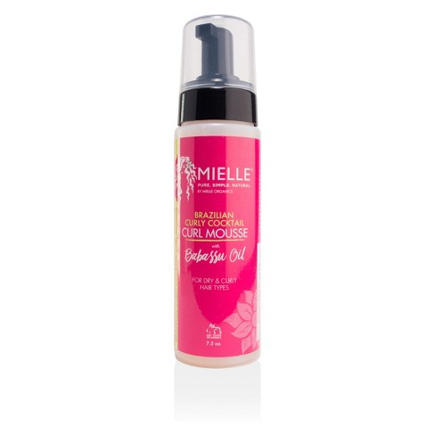 Mielle Brazilian Curly Cocktail Curl Mousse with Babassu Oil - 7.5oz - image 1 of 3