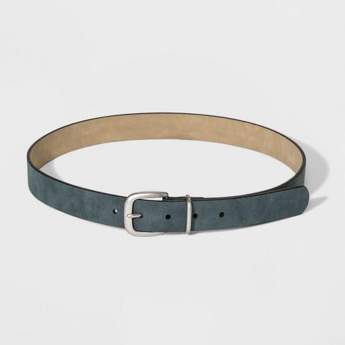 Women's Metal Loop Basic Belt - Universal Thread™ Blue - image 1 of 2