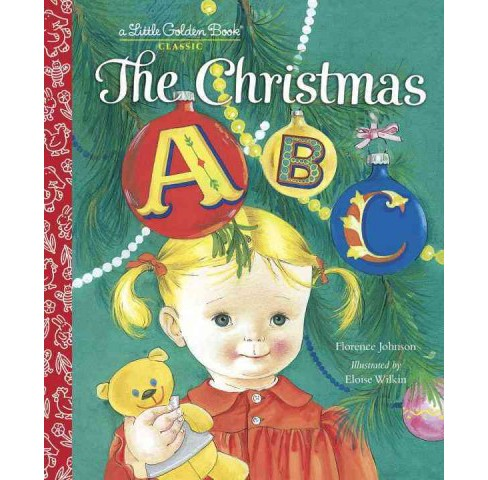 Christmas ABC (Hardcover) (Florence Johnson) - image 1 of 1