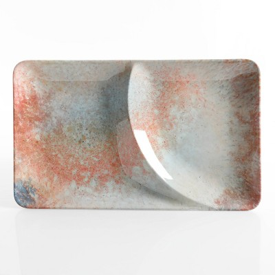 Cravings by Chrissy Teigen 2-Section Melamine Serve Tray