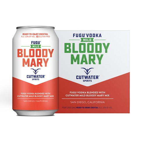 Cutwater Fugu Mild Bloody Mary Cocktail - 4pk/12 fl oz Cans - image 1 of 3
