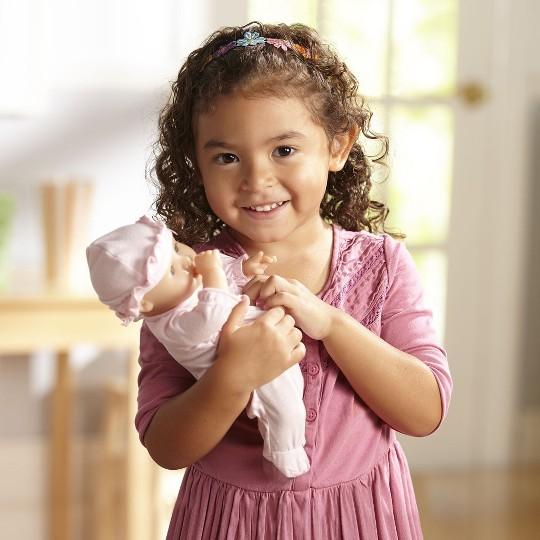 """Melissa & Doug Mine to Love Jenna 12"""" Soft Body Baby Doll"" image number null"