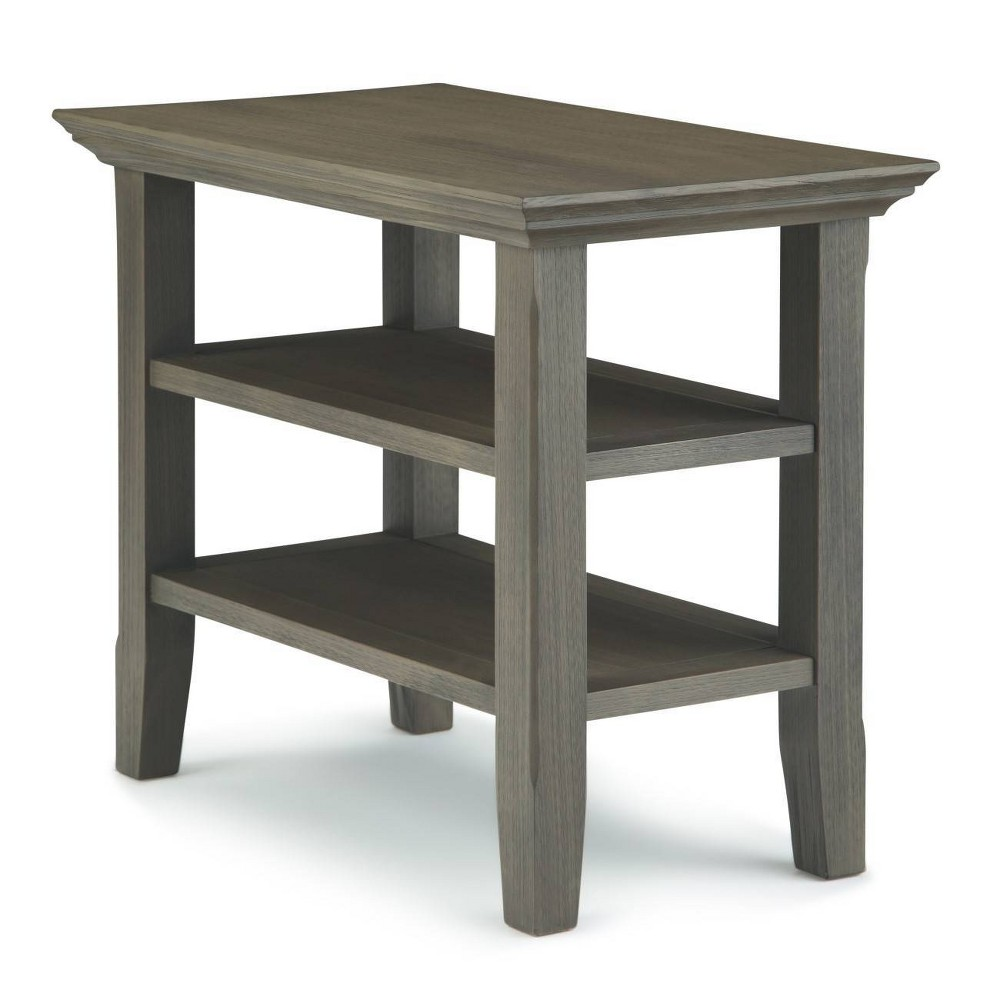 """Image of """"14"""""""" Normandy Narrow Side Table Gray - Wyndenhall"""""""