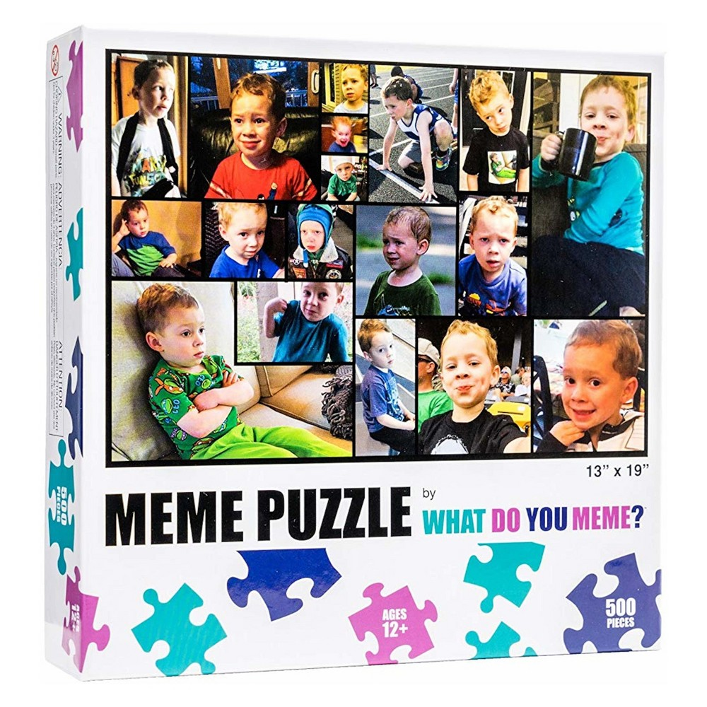 What Do You Meme? Gavin From Vine 500pc Jigsaw Puzzle Love memes? Love puzzles? Now get the best of both in this new jigsaw puzzle brought to you by the makers of What Do You Meme? Party Game. This puzzle is filled with Gavin From Vine. Nuff said. Gender: unisex.