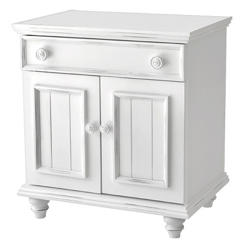 Notting Hill Collection 1 Drawer 2 Door Nightstand John Boyd Designs
