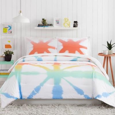 Tie Dye Rainbow Comforter Set - Ampersand for Makers Collective