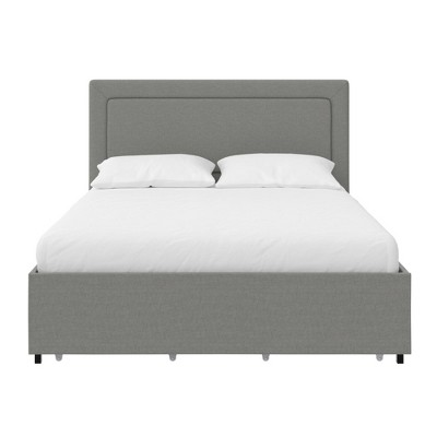 RealRooms Alden Upholstered Bed with Storage Drawers