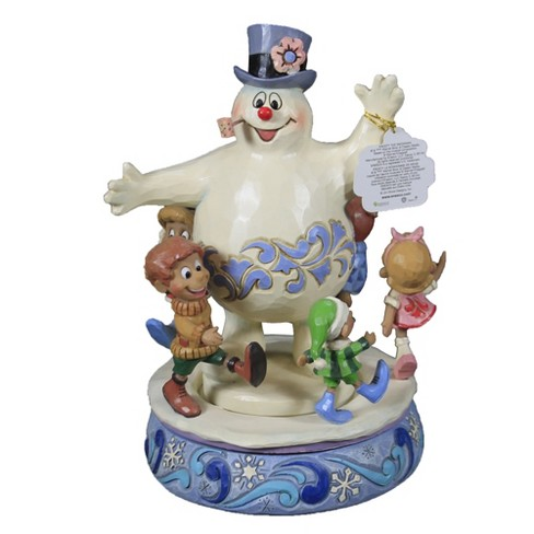 """Jim Shore 8.75"""" Winter Friendships Are Magical Frosty Snowman  -  Decorative Figurines - image 1 of 3"""