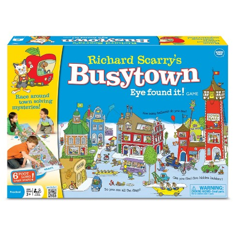 Wonder Forge Richard Scarry's Busytown Eye Found it! Game - image 1 of 2