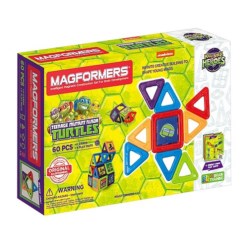 Magformers TMNT 60 PC Set - image 1 of 9