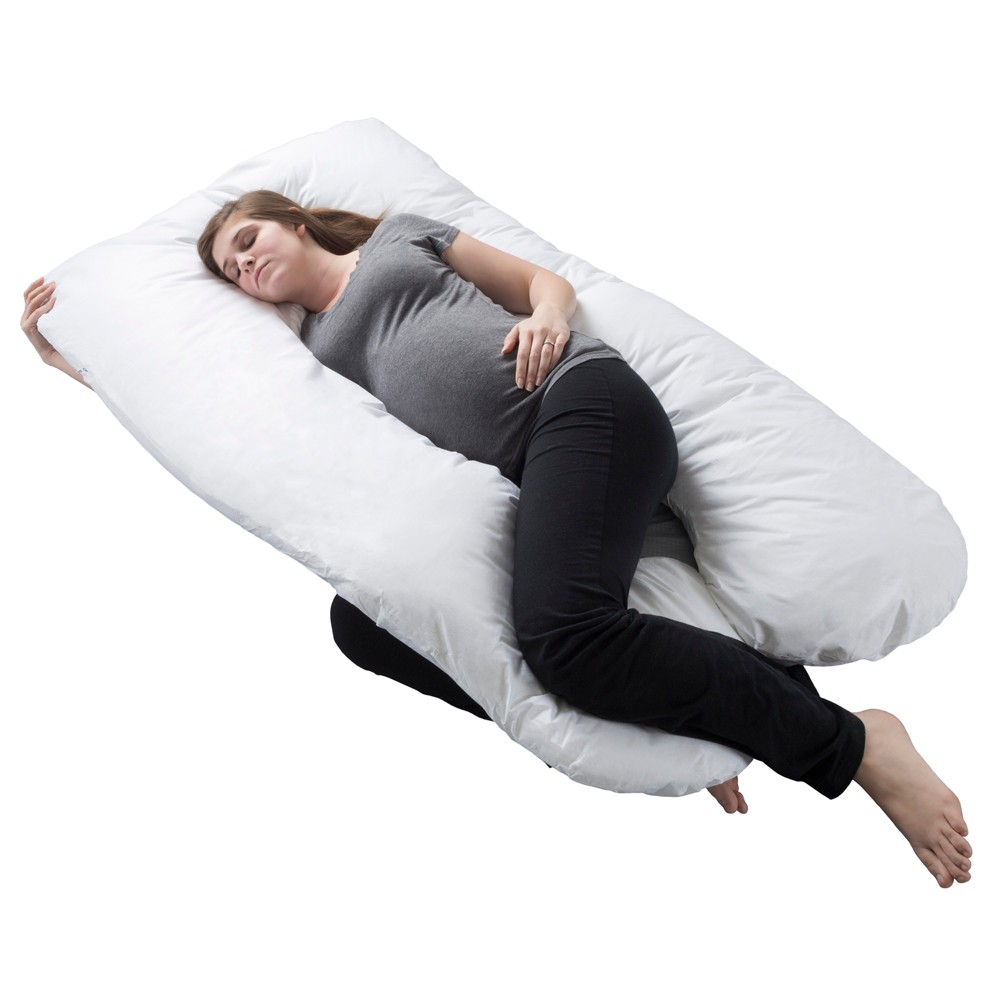 Image of Pregnancy Support Pillow White - Yorkshire Home