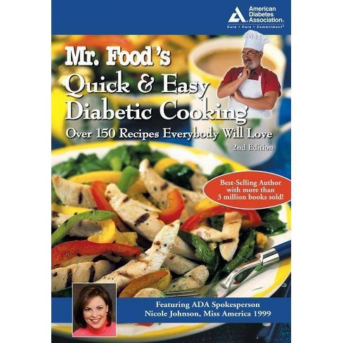 Mr. Food's Quick and Easy Diabetic Cooking - 2 Edition by  Art Ginsburg (Paperback) - image 1 of 1