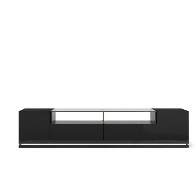 "Vanderbilt with Led Lights TV Stand for TVs up to 70"" - Manhattan Comfort"