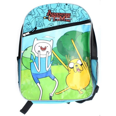 Popular Brand Adventure Time Jake Backpack Bag Kids' Clothes, Shoes & Accs.