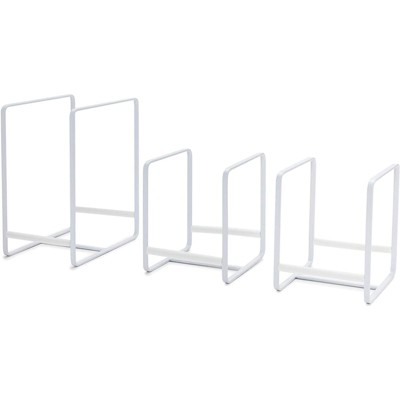 Juvale 3 Pack Kitchen Cabinet Organizer for Plates, Pots and Pans (2 Sizes)
