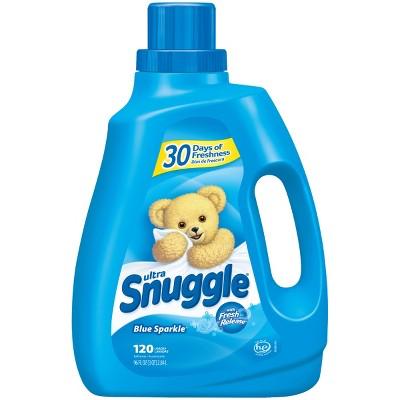 Snuggle Liquid Fabric Softener, Blue Sparkle, 96oz , 120 Loads