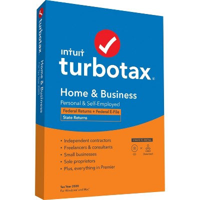 TurboTax Home and Business 2020
