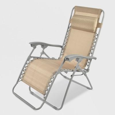 Zero Gravity Lounger Tan - Threshold™