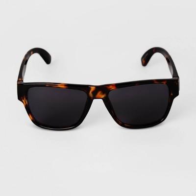 Men's Tortoise Shell Square Sunglasses - Goodfellow & Co™ Brown
