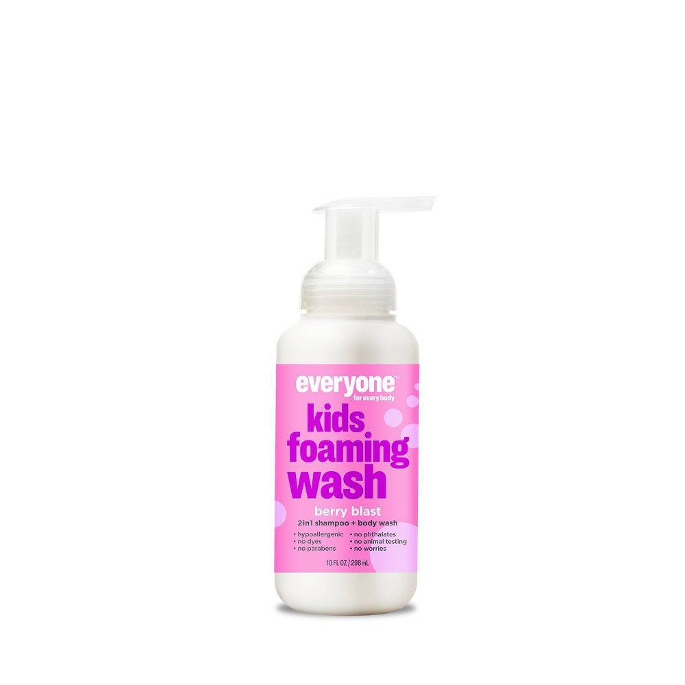 Image of Everyone for Every Body Kids Berry Blast Foaming Wash - 10oz